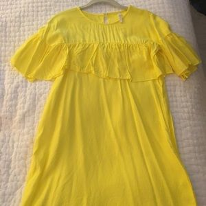 Yellow Zara Dress